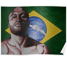 brazil anderson silva Poster