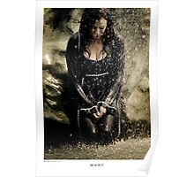 Mary McDonnell - BSG THROW PILLOW Poster