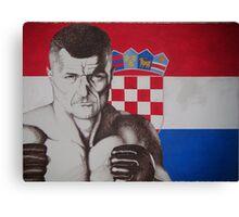 croatia mirko cro cop Canvas Print