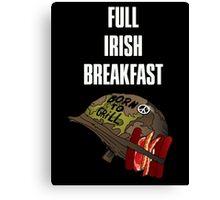 Full Irish Breakfast Canvas Print