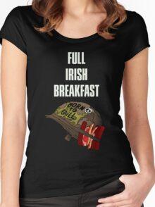 Full Irish Breakfast Women's Fitted Scoop T-Shirt