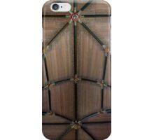 Wooden cross vault iPhone Case/Skin