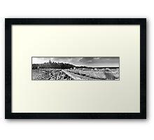 Hara bay panorama. Framed Print