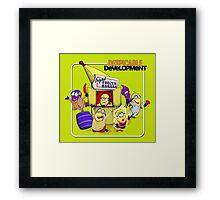 Despicable Development Framed Print