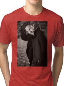 MANU BENNETT - SPIRAL NOTEBOOK! Tri-blend T-Shirt