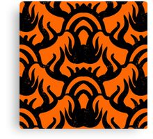 Bold pattern with thai athnic motifs Canvas Print