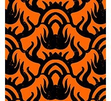 Bold pattern with thai athnic motifs Photographic Print