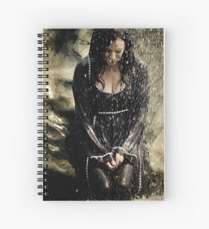 Mary McDonnell - BSG THROW PILLOW Spiral Notebook