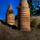 Bottle Kilns by Ian English