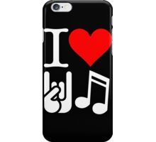 I Love Rock N Roll  iPhone Case/Skin