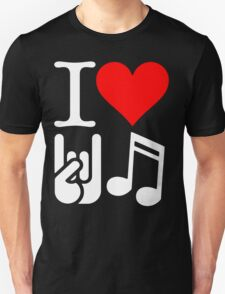 I Love Rock N Roll  T-Shirt