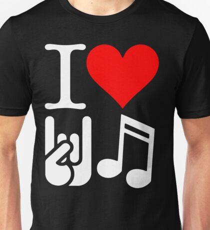 I Love Rock N Roll  Unisex T-Shirt