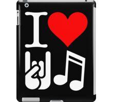 I Love Rock N Roll  iPad Case/Skin