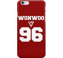 SEVENTEEN Varsity Wonwoo  iPhone Case/Skin
