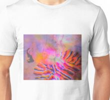 Two in one watercolor stylized views Unisex T-Shirt