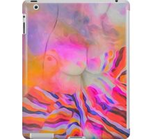 Two in one watercolor stylized views iPad Case/Skin