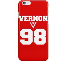 SEVENTEEN Varsity Vernon iPhone Case/Skin