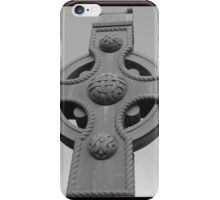 Celtic Cross Gartan Donegal Ireland iPhone Case/Skin