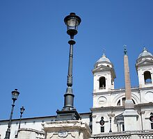 Trinità dei Monti by hjaynefoster