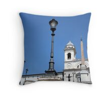 Trinità dei Monti Throw Pillow