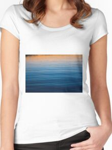 Deep Hues Women's Fitted Scoop T-Shirt