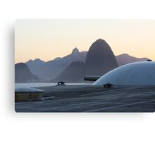 Canon, Sugar Loaf and Christ Canvas Print