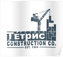 Tetris Construction Co. Poster
