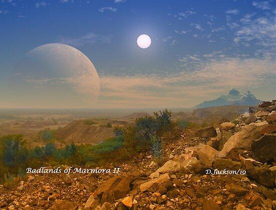 Badlands Marmora II by AlienVisitor