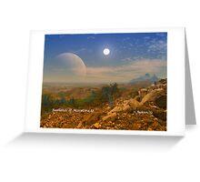 Badlands Marmora II Greeting Card