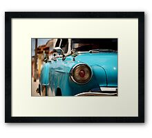 Che in the headlights Framed Print