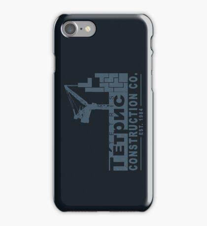 Tetris Construction Co. iPhone Case/Skin