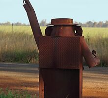 NED KELLY BACKVIEW by Helen Akerstrom Photography