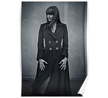 Amanda Tapping - Silver Series Spiral Notebook! Poster