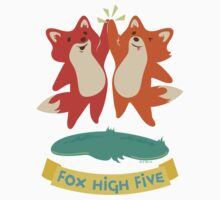 Foxes Jump and High Five Kids Clothes