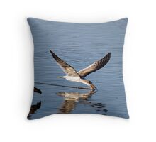 Skimmer Two Throw Pillow