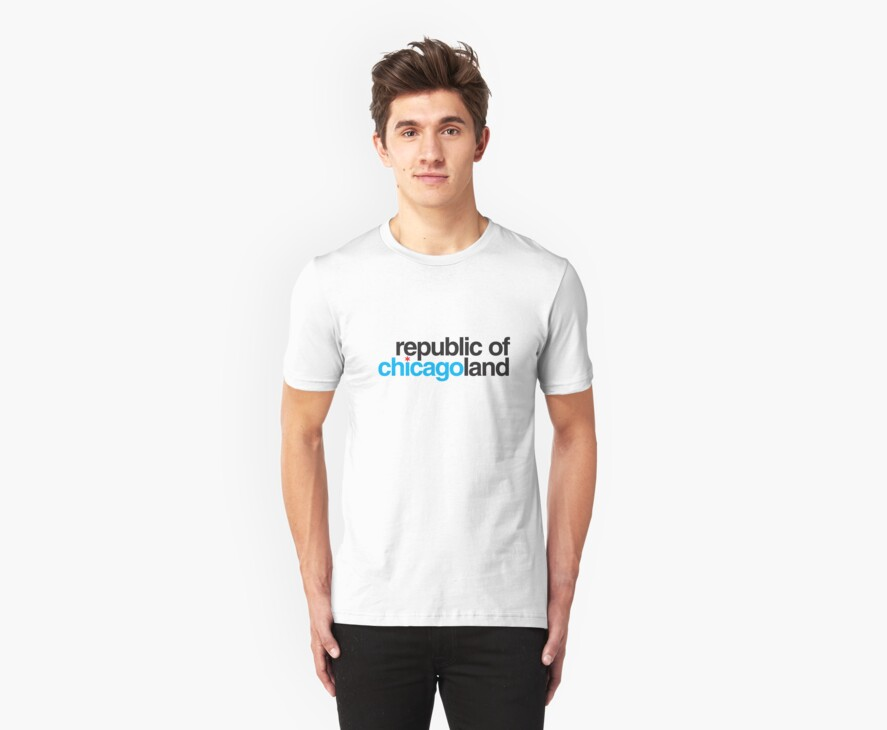 republic of chicagoland by Chicago Tee