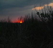 Corsons Inlet Sunset by aaartandphoto