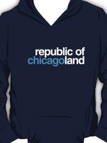 republic of chicagoland (dark blue or black) T-Shirt