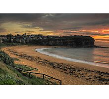 Morning - Mona Vale Beach, Sydney - The HDR Experience Photographic Print