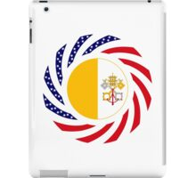 Catholic Murican Patriot Flag Series iPad Case/Skin