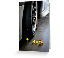 Maurice, keep up with the tour! Greeting Card