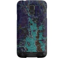 Massachusetts  USGS Historical Topo Map MA New Bedford North 351143 1979 25000 Inverted Samsung Galaxy Case/Skin