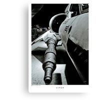 Viper Turret Spiral Notepad! Canvas Print