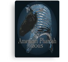 American Pharoah - Tut 2015 Canvas Print