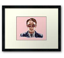 Matthew Murdock- Daredevil Framed Print
