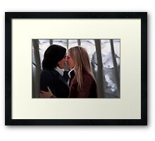 'Write It In The Sky' | SwanQueen Framed Print
