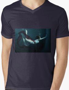 Concrete Cell Mens V-Neck T-Shirt