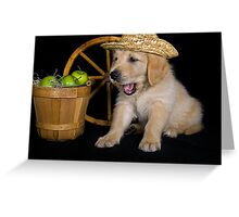 Country Pup Greeting Card