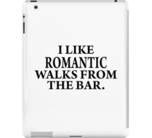 Romantic walks from..... iPad Case/Skin