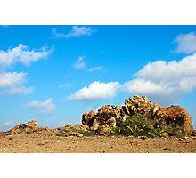 Desert Rocks Photographic Print